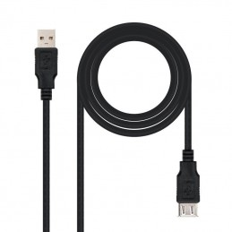 CABLE ALARGADOR USB 2.0 NANOCABLE 10.01.0203-BK