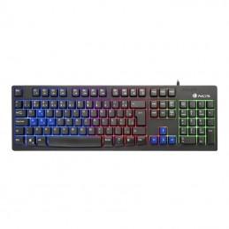 Teclado NGS Gaming GKX-300 LED USB Black